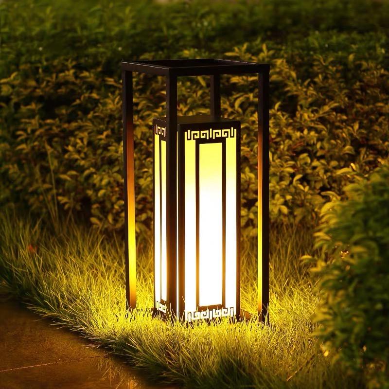 草坪灯多样化。