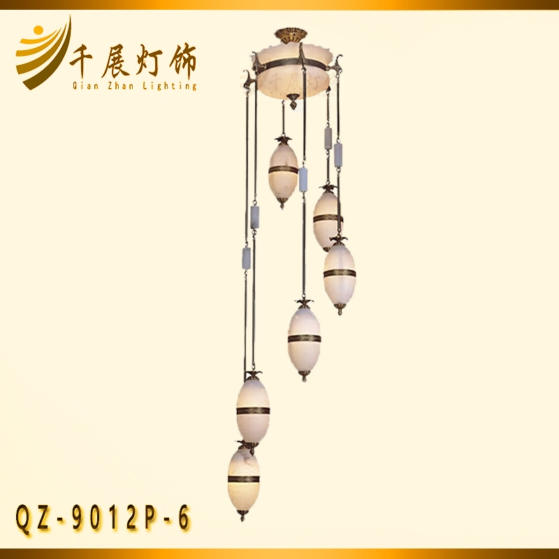 6米楼梯吊灯