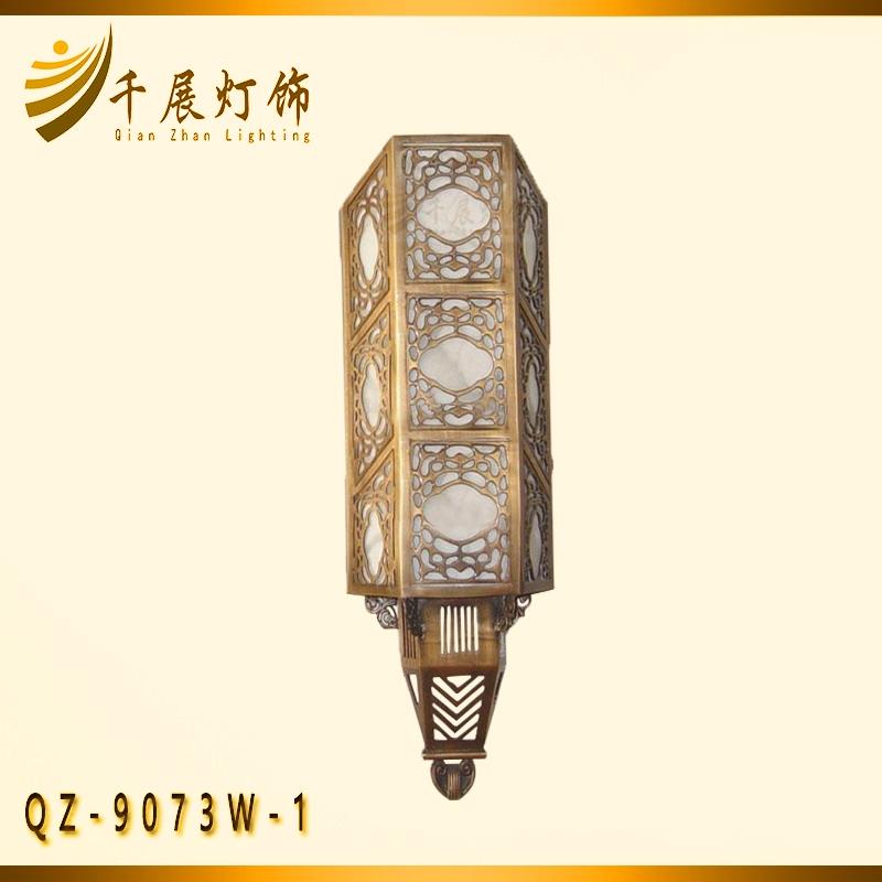 全铜长条壁灯