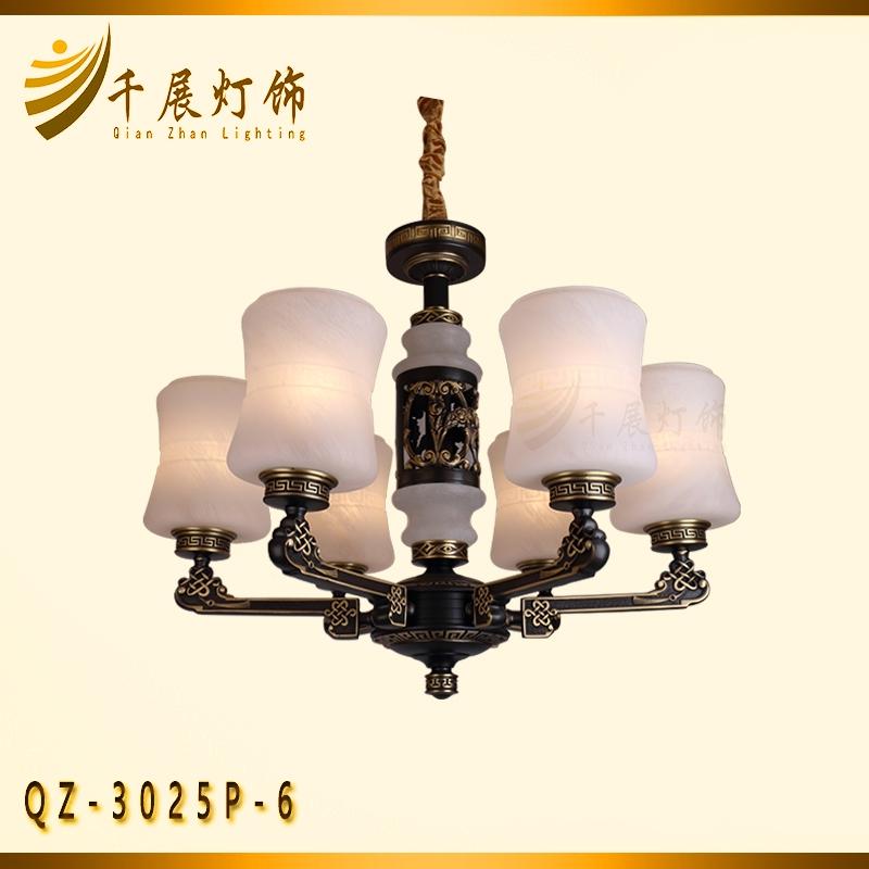 中式全铜灯